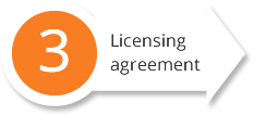 Licensing-agreement
